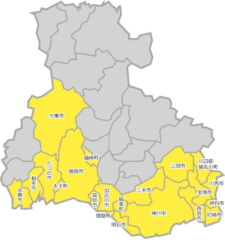 兵庫マップ