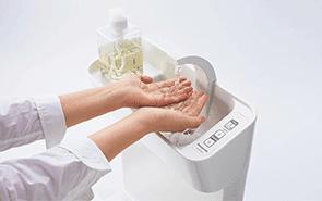 手洗い付きの写真