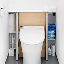 収納一体型トイレの写真