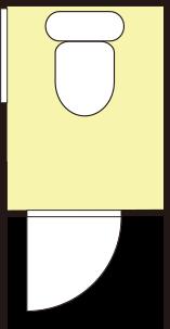 トイレと洗面工事イメージ図その4