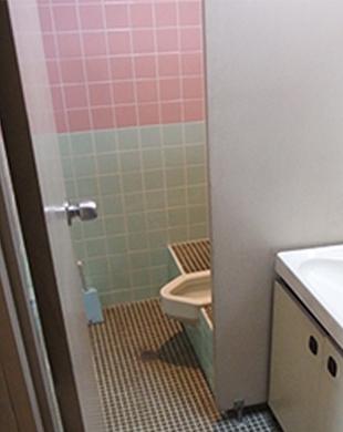 トイレと洗面工事イメージ図その1