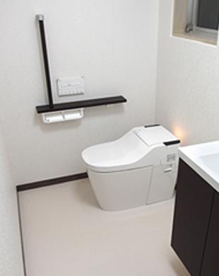 トイレと洗面工事イメージ図その2