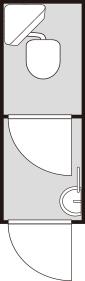 トイレと洗面工事イメージ図その3