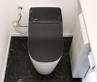 黒い天板のアラウーノの写真