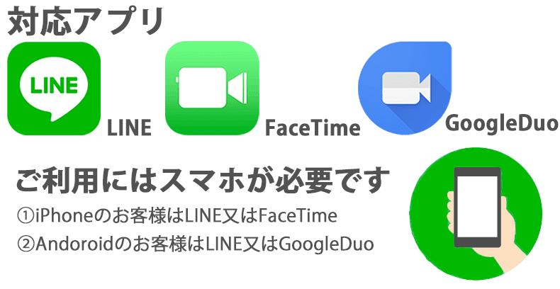 対応アプリ