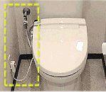 電源コードや止水栓までのコード