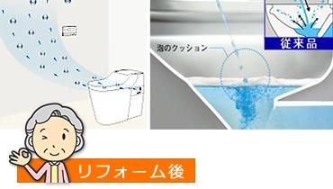 強力脱臭+防汚機能で快適・清潔