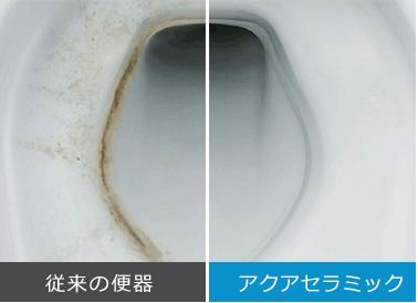汚れが付きにくい新陶器