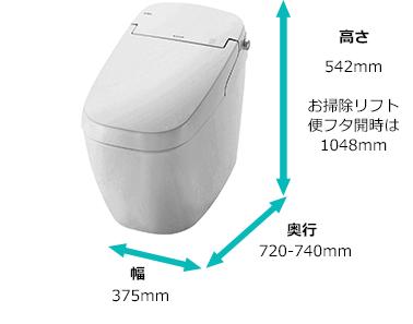 便器サイズ