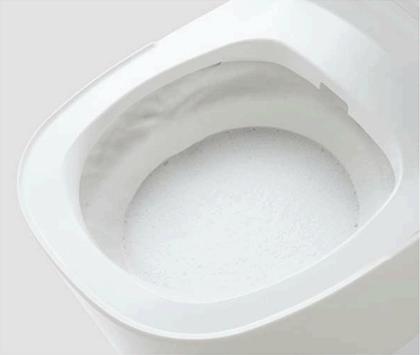 激落ちバブル洗浄中イメージ