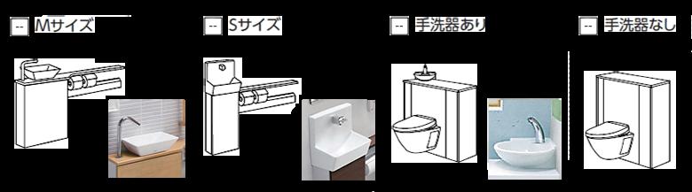 手洗器タイプ