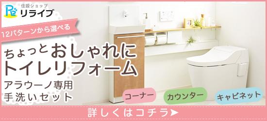 アラウーノ専用手洗いセット