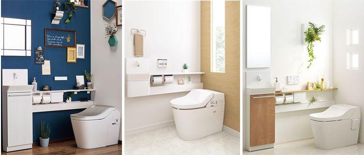 3つの手洗いタイプイメージ