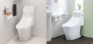 アメージュZAシャワートイレの写真