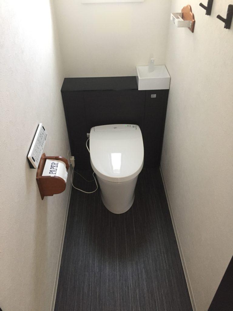 トイレの床 壁をリフォーム トイレリフォーム専門店